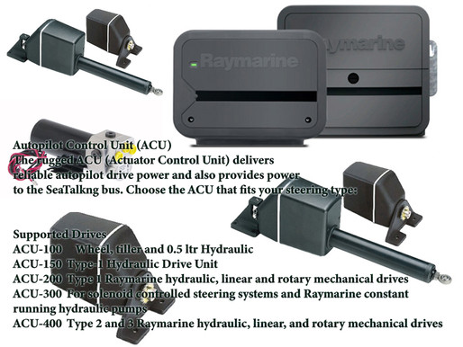 Raymarine Supported Drives Autopilot