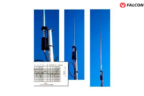 OUT250B, ALUMINUM BASE ANTENNA 9 BANDS