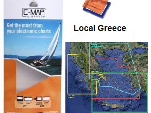 C-MAP 4D Local GREECE