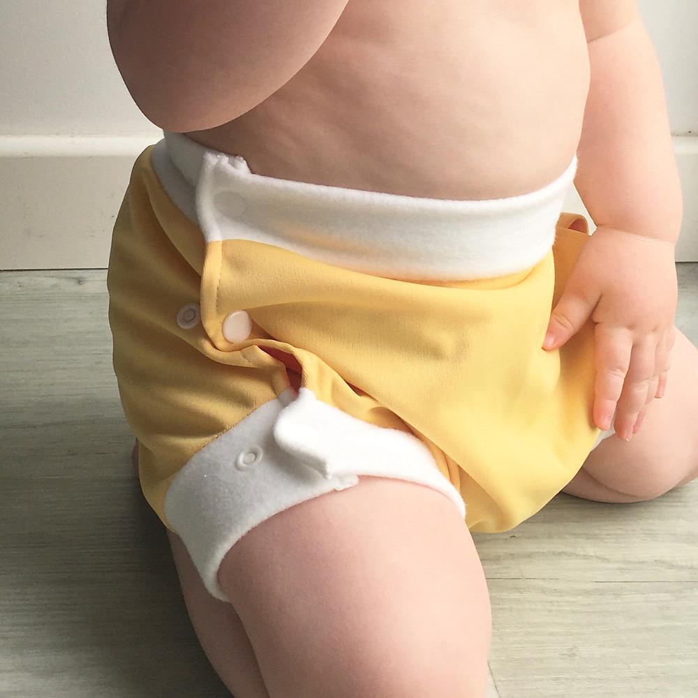 Culotte de protection pour couche lavable pour bebe
