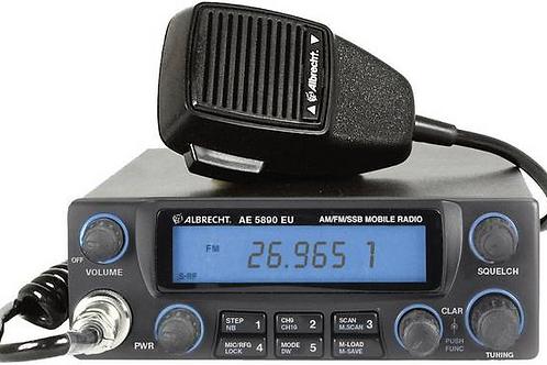 Albrecht AE-5890EU 12589 CB  SSB LSB radio