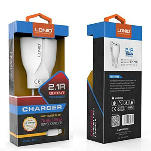 LDNIO A2271 USB charger 2.1A Output