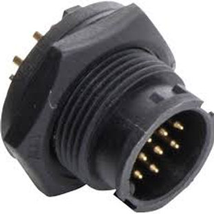 LTW8 8pin Spare Part MALE SOCKET