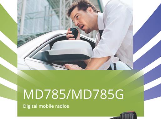 MD785 IR FULL DUPLEX DMR REPEATER