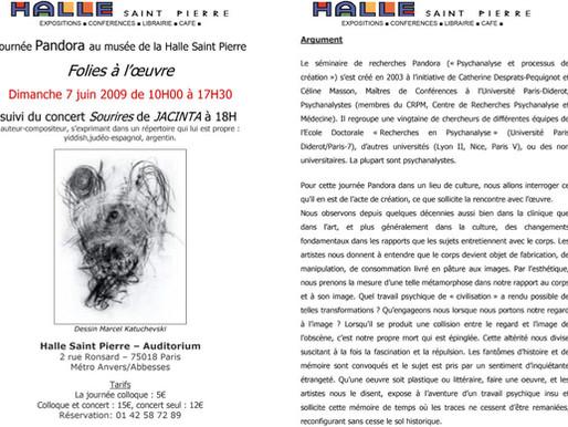 FOLIES À L'OEUVRE – 2009