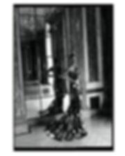 bergdorf goodman evening campaing, wearing marchesa dress, model mayowa nicholas