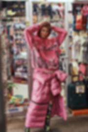 Jac Monika for Viva Moda in NYC, midtown, balenciaga and some cheap new york city souvenir by Will Vendramini