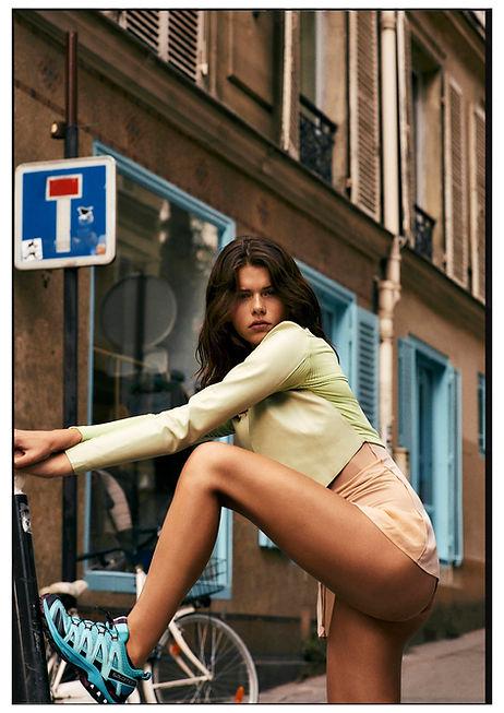 Georgia Fowler for Costume Magazine by Will Vendramini - Streets of Paris