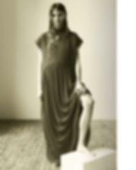 Anna Mila Gueynz - The Guide of Heart by Will Vendramini black and white model studio