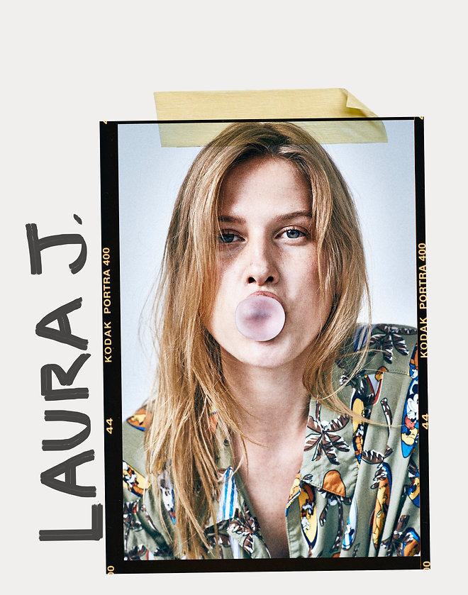 laura julie gum bubble fun studio will vendramini life happy smile young colorful denmark le managent