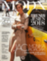 Jac Monika for Viva Moda in NYC, yellow cab