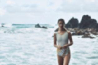 Lise Olsen Antrhopologie Will Vendramini Hawaii Swim smile beach bikini