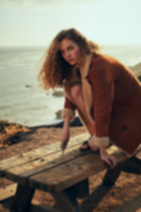 Tanya Kizko - Costume Magazine - California Sunrise - Will Vendramini - Beach