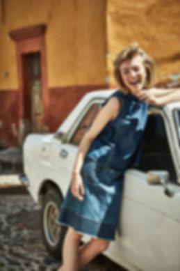 Lou Schoof Anthropologie Mexico Denim Smile