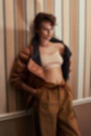Jac Monika for Viva Moda in NYC, Chelsea Hotel at night by Will Vendramini