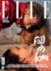 Elle Brazil Elle Brasil may 17 maio 17 susanne knipper julia fleming fall in love kiss best friends will vendramini beach
