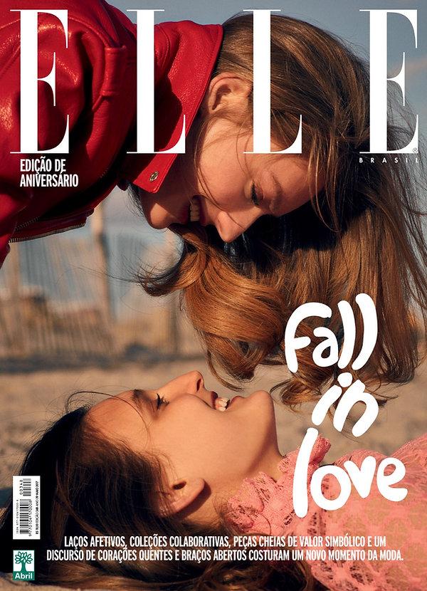 Elle Brazil Elle Brasil may 17 maio 17 susanne knipper julia fleming fall in love kiss best friends will vendramini beach