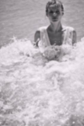 Paige Reifler, Kisuii, Swim, resort, summer, beach, fashion editorial, will vendramini, black & white
