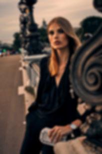 Adela Stenberg by Will Vendramini Paris shoot editorial smile swedish shopbop night