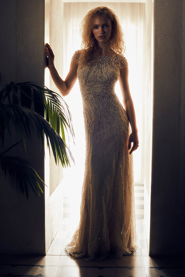 Bridal Wedding shoot in Morocco, Marakesh editorial for Jenny Packham hotel