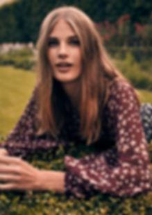 Adela Stenberg by Will Vendramini Paris shoot editorial smile swedish shopbop