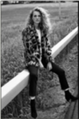 Intermix Fall 18 Campaign, Tanya Kizko, road trip, leopard coat
