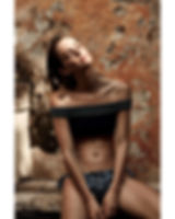 Megan Williams bikini campaign swim