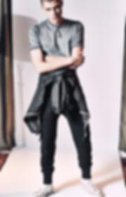 Yuri Pleskun Men East Dane eastern europ inspired suits cool three guys