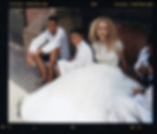Bridal Wedding shoot in Morocco, Marakesh editorial for Jenny Packham playing cards with he kids 2