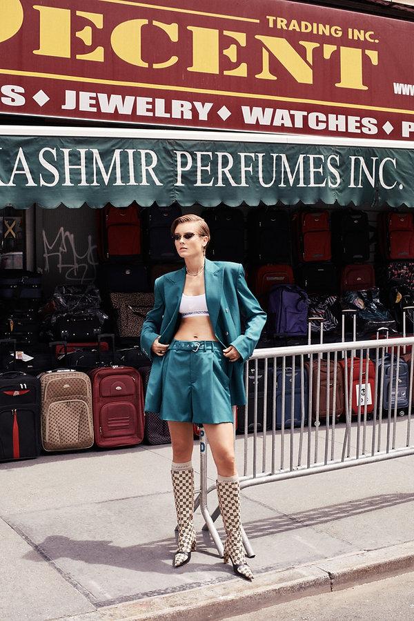 Jac Monika for Viva Moda in NYC, midtown girl, dirty new york by Will Vendramini