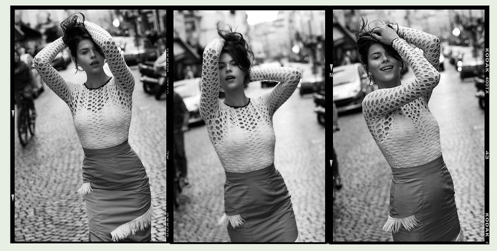 Georgia Fowler for Costume Magazine by Will Vendramini -Streets of Paris Smile