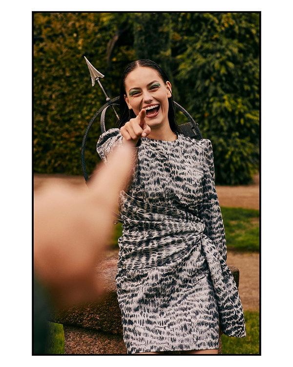 Costume Magazine - December 18 - Will Vendramini - Caroline Knudsen smile