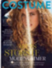 Tanya Kizko - Costume Magazine - California Sunrise - Will Vendramini - Cover Story September Issue