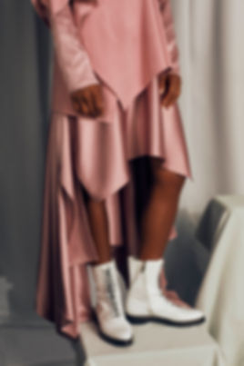 elle brazil elle brasil pink and white shoes cipriana quann