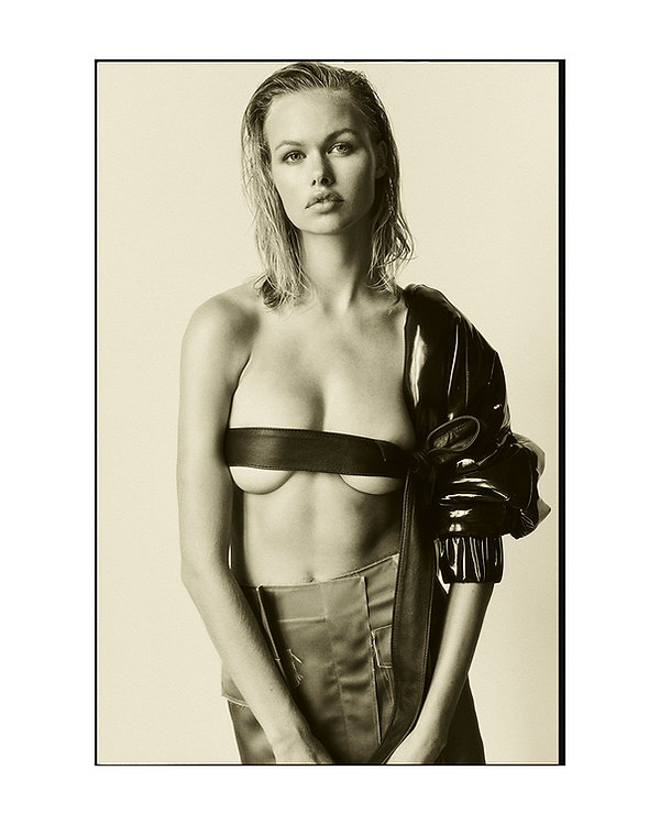 Emma Stern Nielsen cool editorial short hair new topless