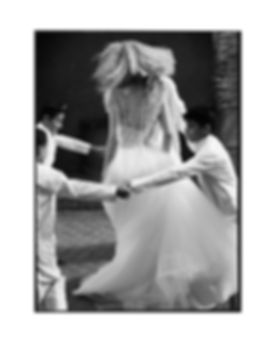 Bridal Wedding shoot in Morocco, Marakesh editorial for Jenny Packham dancing with kids