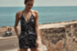 Megan Williams bikini campaign cartagena colombia
