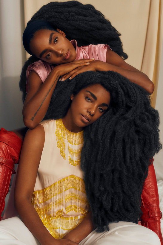 tk wonder and cipriana quann for elle brazil september issue, together smiling and love
