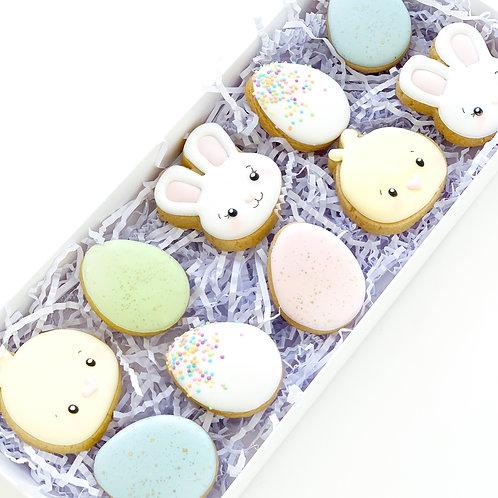 1 Dozen Mini Easter Cookies