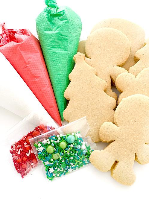 DIY Christmas Cookie Decorating Kit