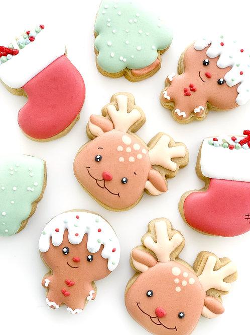 4 Pack Christmas Minis