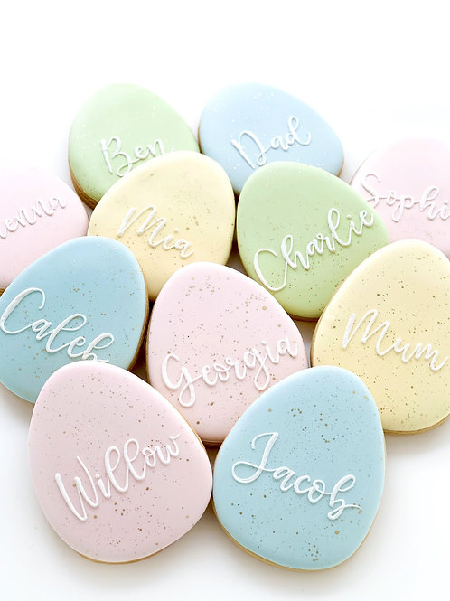 Personalised Speckled Eggs