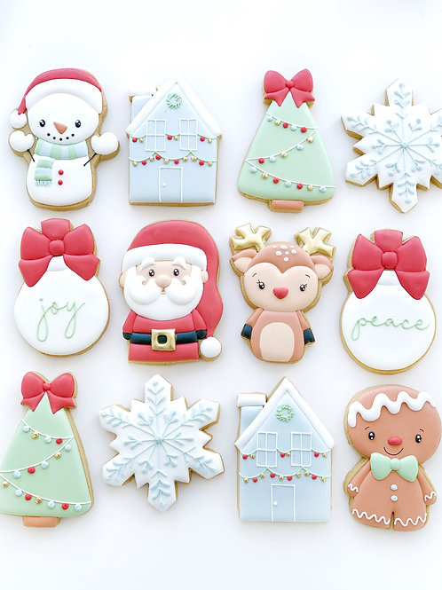 1 Dozen Christmas Cookies
