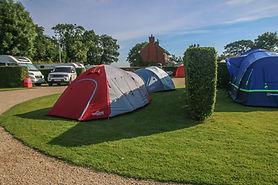 Camping at Cartref