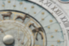 zodiac wheel with stars
