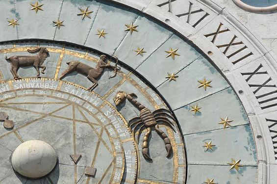 zodiac wheel, stars