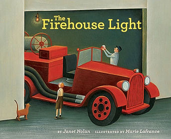 The Firehouse Light Janet Nolan Book cover