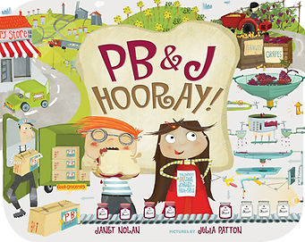 PB & J Hooray Janet Nolan Book Cover