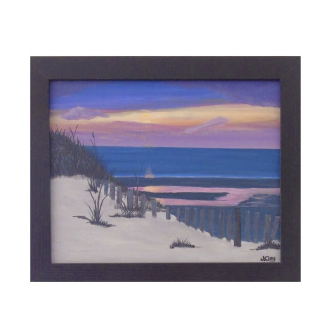 Mayflower Beach Sunset 8x10