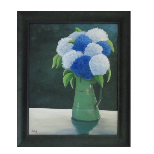 SOLD- Hydrangea Happiness 16x20